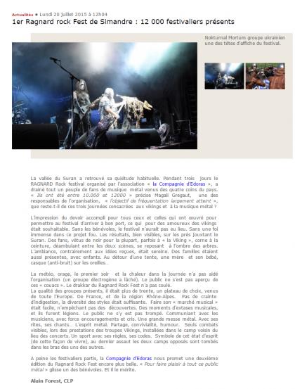 1er Ragnard rock Fest de Simandre2