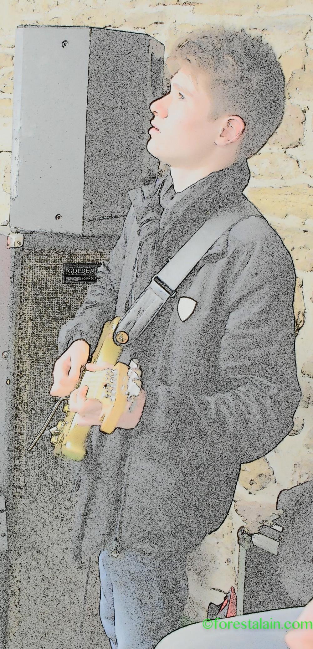 PULSE, Lucas  un futur Gilmour ?