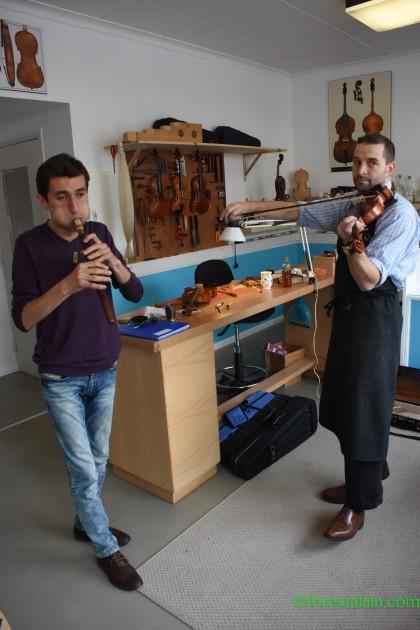 Arsen Pétrosyan & Mickaël Ourghanlian
